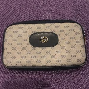Authentic Gucci makeup case